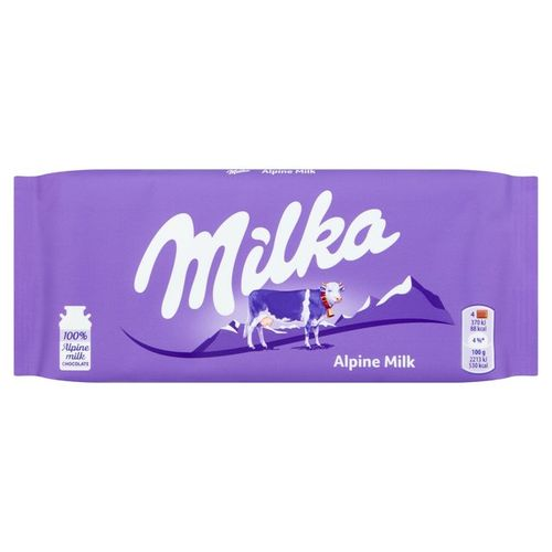 MILKA ALPINE MILK 100G DS