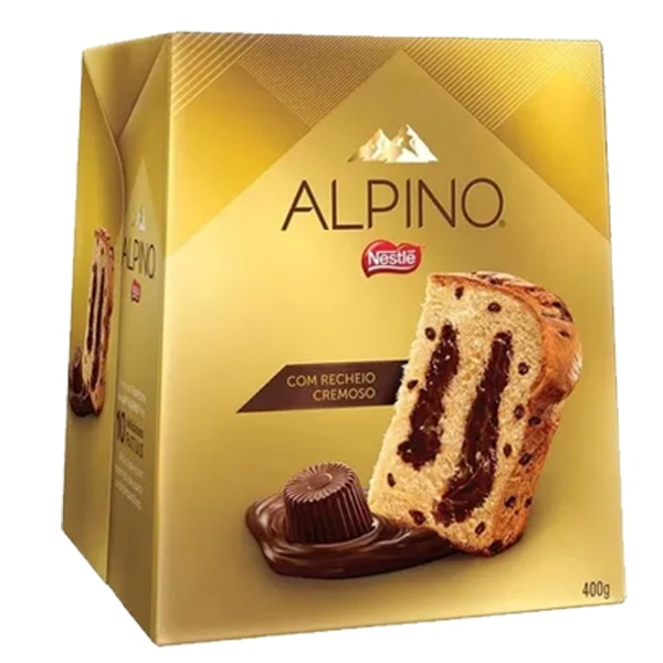 ALPINO Panettone Gianduia 400g