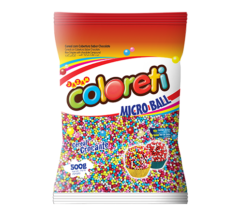 COLORETI MICROBALL CORES TRAD. 500G 10608