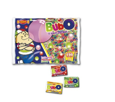 CHICLE BUBO 3 SABORES C/100      2010112