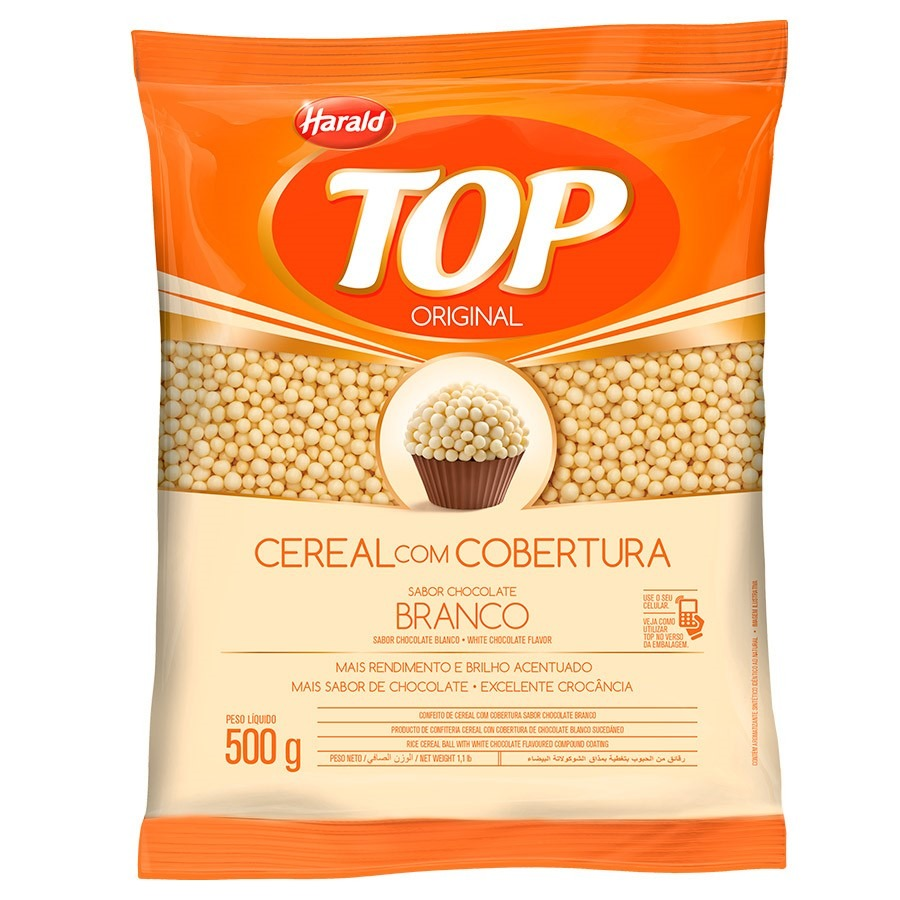 CEREAL BALL BRANCO TOP 500G 103505